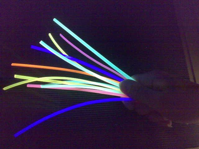 флюоресцирующий шнур