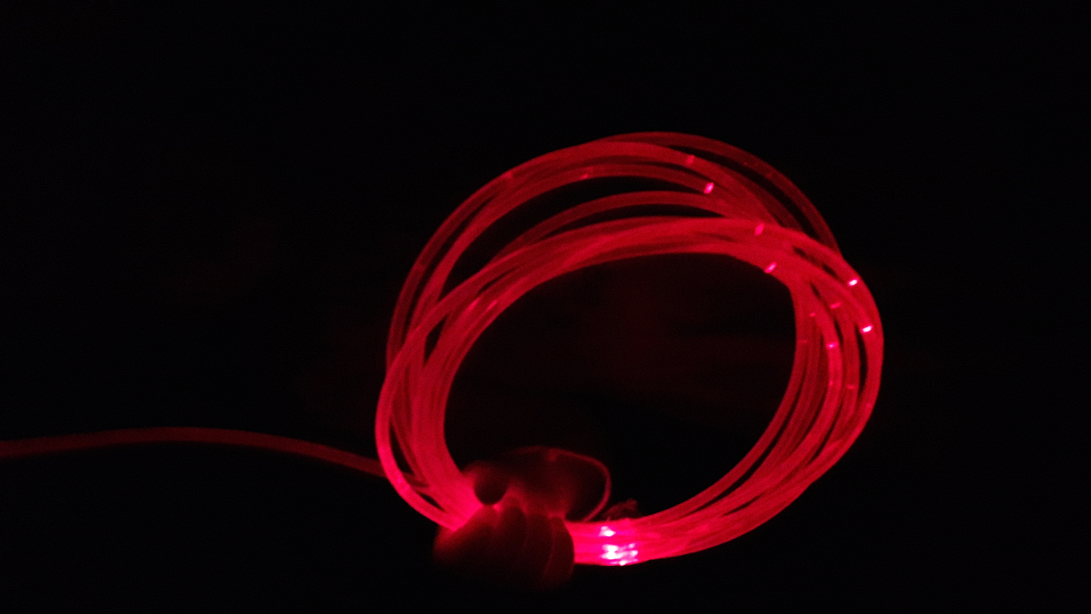 волокно бокового свечения